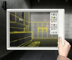 future, Iris Tablet, Fujitsu, Transparent Tablet, tech, Concept, device, technology, innovation, gadget, futuristic, transparent screen