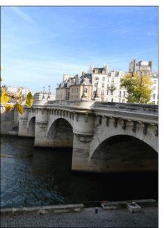 Carte Pont neuf à Paris pour envoyer par La Poste, sur Merci-Facteur ! Architecture Parisienne, Paris Architecture, Paris Street, City Lights, Parisian, Places Ive Been, Photos, France, Spaces