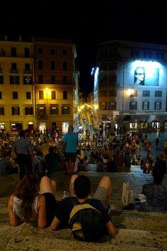 Piazza di Spagna, Rome, Italy : 로마 스페인 광장