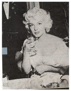 """Marilyn Monroe at the """"East of Eden"""" premiere after-party, March 9th 1955."""