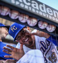 "7,176 Likes, 19 Comments - Kansas City Royals (@kcroyals) on Instagram: ""Goofball. #RaisedRoyal"""