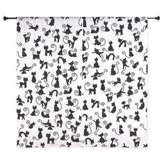 Mini Cats Curtains on CafePress.com