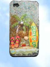 iphone 4 3D case for a casual look.Handmade one-of-a-kind at www.wowever.com