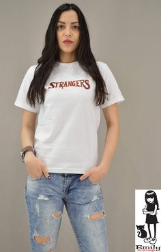 Γυναικείο t-shirt Emily Strangers Metal, T Shirt, Tops, Women, Fashion, Supreme T Shirt, Moda, Tee Shirt, Fashion Styles