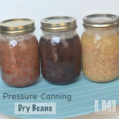 pressure canning dry beans