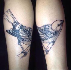 #bird #blackwork #dotwork
