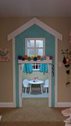 20 Indoor Playhouse Ideas Creating a Whole Little World for Your Kiddos Closet Playhouse, Play Houses, Furniture, Alcoholic Drinks, Image, Toddler Bed, Home Decor, Homemade Home Decor, Alcoholic Beverages
