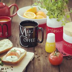 #breakfast #rustic #mugofcoffee #loveyourhome #westwing #wdomunajpiekniej