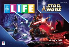 If you've played The Game of Life and you are a Star Wars fan, you can probably picture how The Game of Life A Jedi's Path might be played... Board Game.