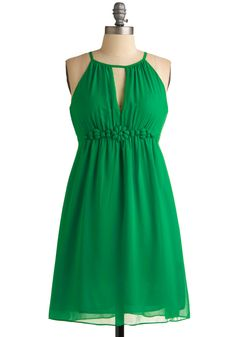Malachite Clovers Dress