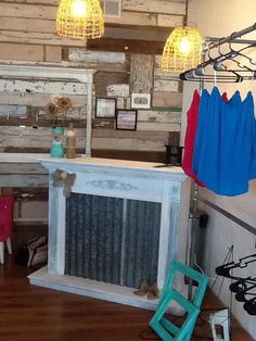 Fireplace cash wrap stand