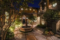 Plan 36522TX: 4 Bed Tuscan Masterpiece with Courtyard