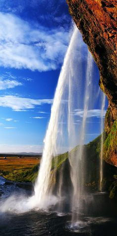 Amazing Seljalandsfoss waterfall in Iceland | 16 Reasons Why You Must Visit Iceland Right Now. Amazing no. #12