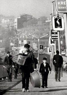 Unkapanı Köprüsü - Unkapanı Bridge (1970) #istanbul #istanlook