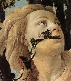 Le Printemps (Primavera en italien) est une peinture de Botticelli, exécutée entre 1478 et 1482. Modèle: Simonetta Vespucci?