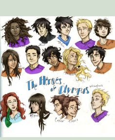 Percy Jackson! Yay it shows all of them! Gosh, Octavian bothers me so much!