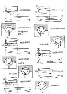 Sewing Men Clothes Shirt Cutting from the Einheitssystem - The Cutter and Tailor - custom design shirts, mens colorful shirts, pink shirts *ad - Techniques Couture, Sewing Techniques, Pattern Cutting, Pattern Making, Sewing Hacks, Sewing Tutorials, Clothing Patterns, Sewing Patterns, Shirt Collar Pattern