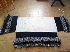 {trulie-scrumptious}: Ruffled Crib Skirt Tutorial
