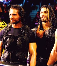 Seth Rollins an Roman Reigns Seth Freakin Rollins, Seth Rollins, Roman Regins, The Shield Wwe, Kenny Omega, Wwe Roman Reigns, Solo Pics, Wrestling Superstars, Wwe World