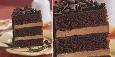 Tarta de tres chocolates - El Gran Chef