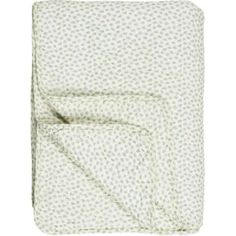 Decke - Plaid -grüne Blätter, 130 x 180 cm Decoration, Towel, Organization, Material, Europe, Home Decor, Chic, Vintage, Inspiration
