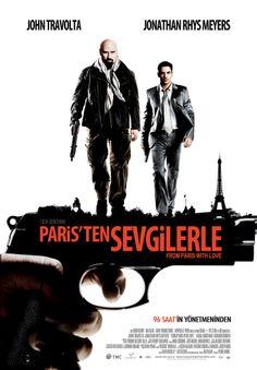 Paristen Sevgilerle - From Paris with Love - 2010 - BRRip Film Afis Movie Poster