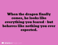 *Dies laughing* So basically, most of my dragons in a nutshell. ;D
