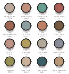 Looking for a southwestern palette? Look no further!