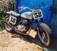 Simon Cole Yamaha SR500 Trouble