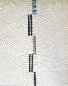 Love the simplicity of this, brought to life when quilted - Denyse Schmidt Quilts