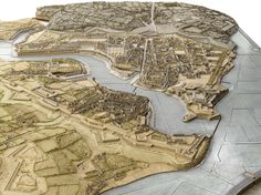 Plan-relief de #Brest, réalisé entre 1807-1811 (en réserve). Notice du plan-relief : http://www.museedesplansreliefs.culture.fr/collections-musee/catalogue-fiche.php?p=plans-reliefs-sites-francais&id=PRF_13 Photo © Musée des Plans-reliefs / RMN-GP, R.G. Ojéda