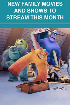 Not sure where to start first? Here are our streaming picks to add to your watch list this month. New Family Movies, Movies Showing, Fun Activities, Watch, Fictional Characters, Clock, Bracelet Watch, Clocks, Fantasy Characters