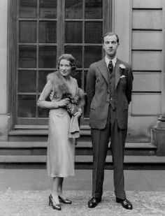 Adele (Astaire) Cavendish, Lady Charles Cavendish (sister of Fred Astaire) with her husband, Lord Charles Cavendish, younger son of the Duke of Devonshire, Fred Astaire, Adele Astaire, Gene Kelly, Mitford Sisters, Duke Of Devonshire, Fred And Ginger, Chatsworth House, Star Wars, British History