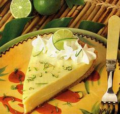 REAL Key Lime Pie. LISTEN UP!! If your key lime pie has meringue or is some weird lime green color then it is NOT real, authentic key lime pie. If you see these things RUN IN THE OPPOSITE DIRECTION. Do not, for the sake of your tongue, put that wannabe crap in your mouth!