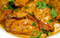 Dhaniwal Korma / Lamb in Yoghurt Curry
