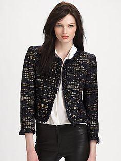 Alice + Olivia Kidman Jacket….WINTER WORK WEAR!