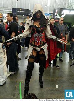 Ezio, Assassins Creed.