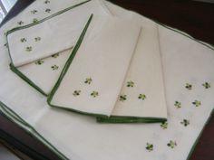 Vintage Placemat & Napkin
