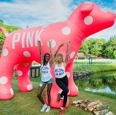 Here's What Happens When Victoria's Secret PINK Models Take Over Summer Camp | People