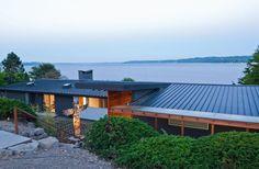 mid century modern standing seam roof - Google Search