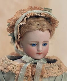 German Bisque Doll by Simon & Halbig❤ ❤ ❤