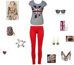 """Perfect London Day"" by softballcutie12400 on Polyvore"