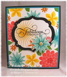 A La Cards: Fabulous Blooms