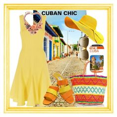 """""""CUBAN CHIC"""" by carolsha on Polyvore featuring Fenn Wright Manson, Sensi Studio, ESCADA and DK"""