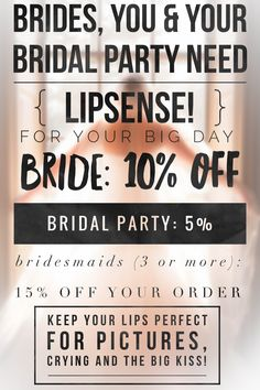 BRIDES AND BRIDAL PARTIES. SeneGence Distributor ID: 351172. Email: prettypoutyperfection@gmail.com. FB Group: Pretty Pouty Perfection.