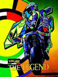 Valentino Rossi Logo, Motogp Valentino Rossi, Vale Rossi, Velentino Rossi, Gp Moto, Motorcycle Wallpaper, Bike Photography, Vr46, Hip Hop Art