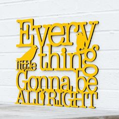 Every Little Thing Cutout (More Colors)