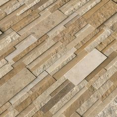 MSI Casa x Travertine Splitface Tile Color: Cream Stone Mosaic Tile, Mosaic Wall Tiles, Travertine Tile, Marble Mosaic, Mosaic Glass, Ceramic Subway Tile, Glass Subway Tile, Wood Look Tile, Color Tile