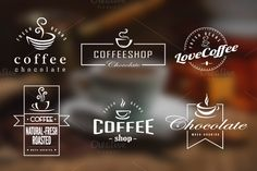 FREE download thru Sunday! Check out Coffee Retro Badges, Labels & Logos by lovepower on Creative Market