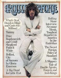 Roger Daltrey - Rolling Stone Magazine [United States] (10 April 1975)